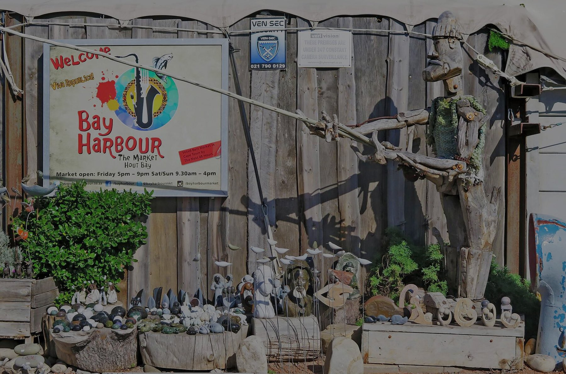 hout bay harbour market top image