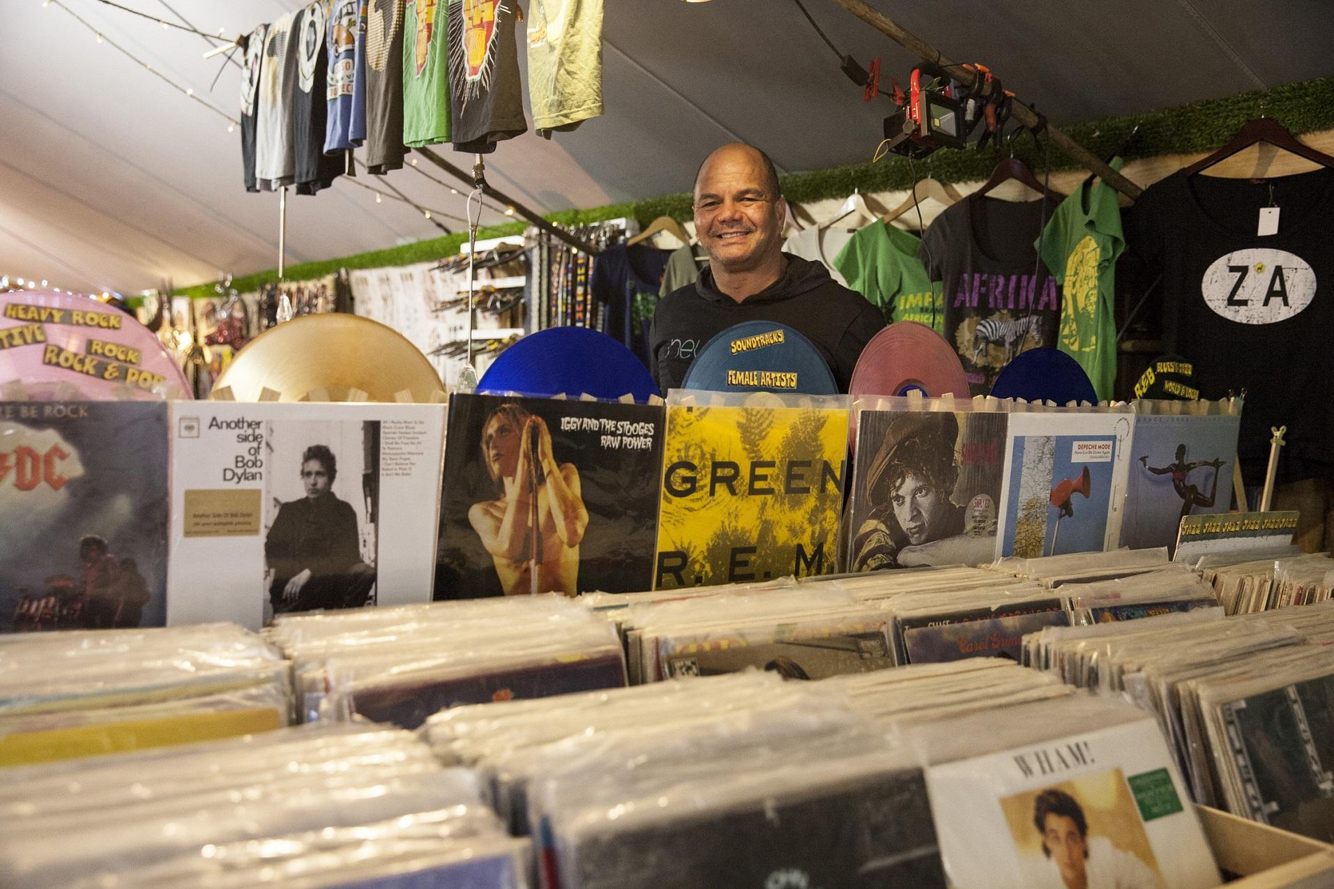 Hout Bay Harbour Market Records Brian Vinyl LP SP Singles