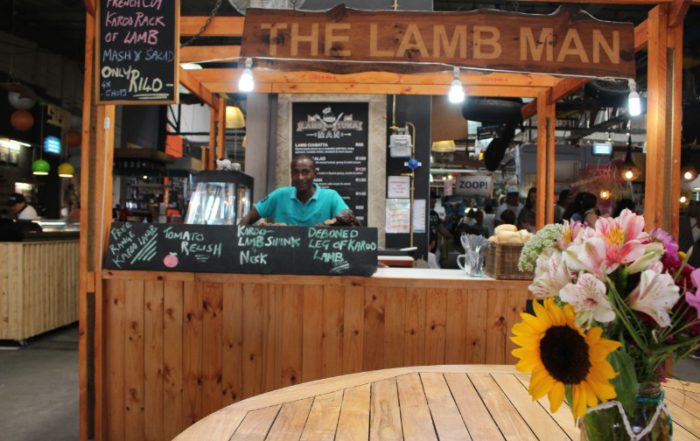 Hout Bay Harbour Market The Lamb Man