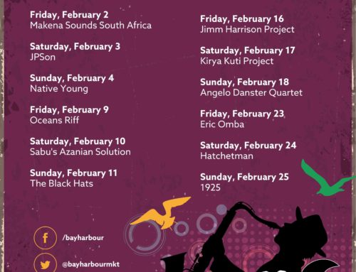 February 2018 Gig Guide at the Bay Harbour Market