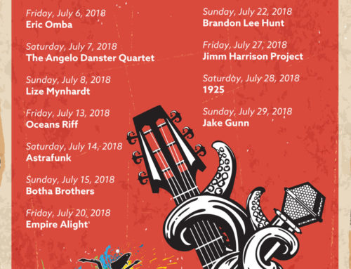 The Winter Gig Guide in July at the Bay Harbour Market