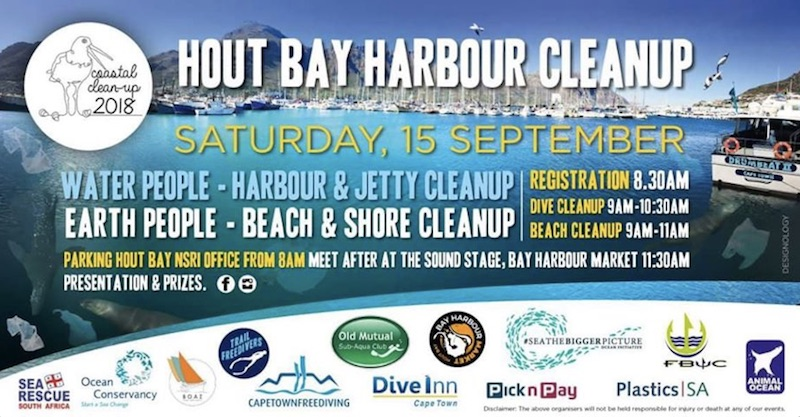 hout bay harbour clean up