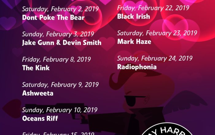 The Bay Harbour Market February Gig Guide