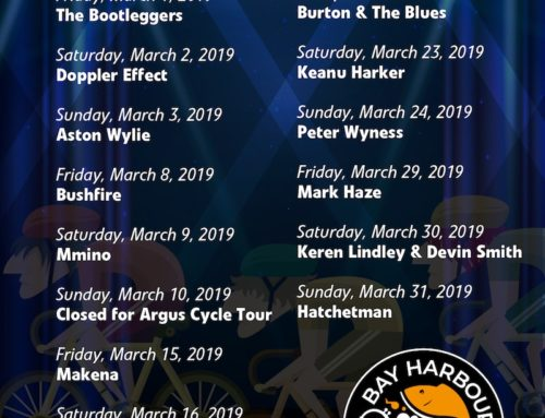 March Gig Guide at The Bay Harbour Market