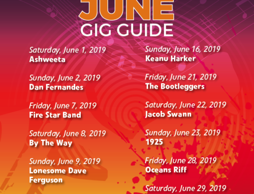 June 2019 Gig Guide At The Bay Harbour Market