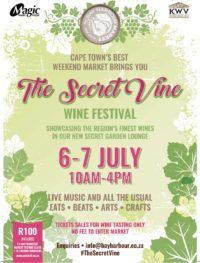 The secret vine wine festival at the bay harbour market