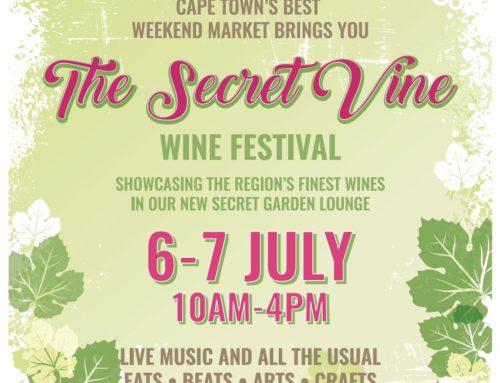 The Secret Vine Wine Festival 6-7 July At The Bay Harbour Market in Hout Bay