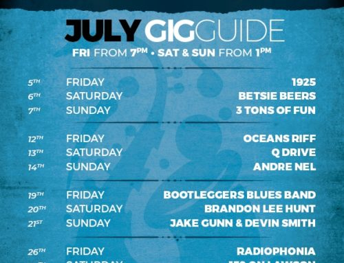July 2019 Gig Guide at the BHM