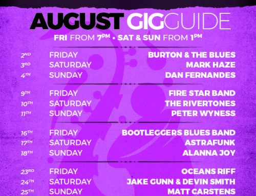 August 2019 Gig Guide