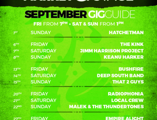 September Gig Guide at The Bay Harbour Market