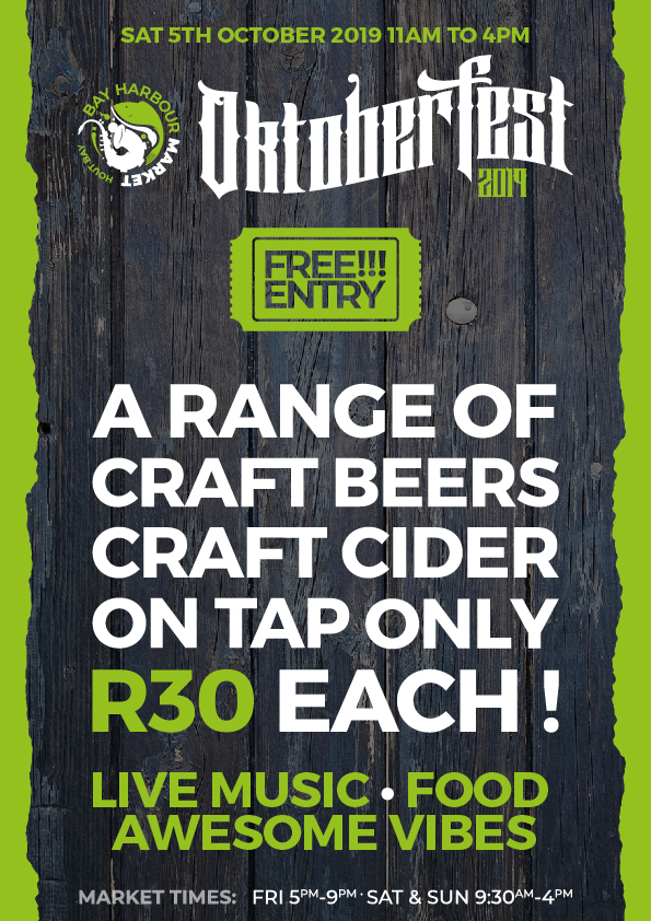 Oktober fest at the bay harbour market - hout bay WebPoster
