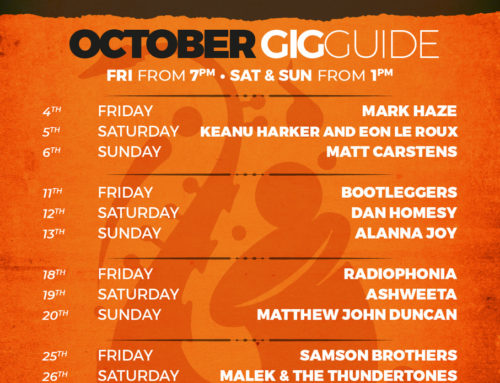 October Gig Guide At The Bay Harbour Market