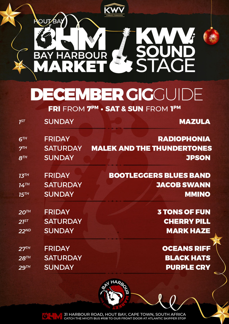 December Gig Guide