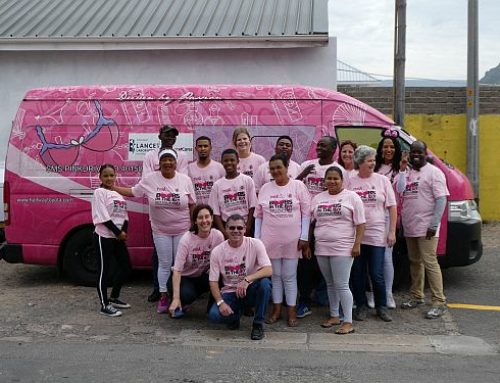 Strawberry Lips PinkDrive Breast Cancer Awareness Initiative