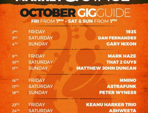 October 2020 Gig Guide