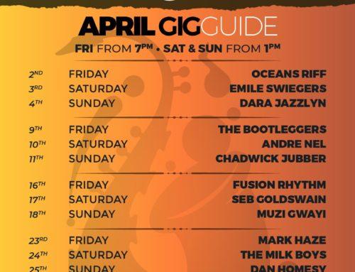 April 2021 Gig Guide