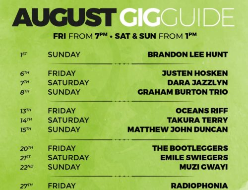 August 2021 Gig Guide
